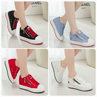 รองเท้าผ้าใบ รองเท้าแฟชั่นน่ารักสไตล์เกาหลี Sneaker&Shoe